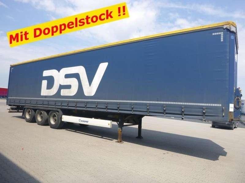 Krone Doppelstock Schiebeplanen Sattelauflieger Profi Liner - 2013