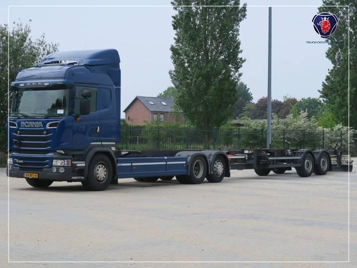 Scania R450 LB6X2*4MLB | SCR-only | Navi - 2014