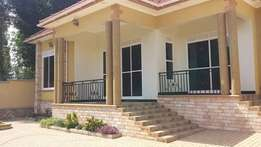 A spectacular brand new 4 bedroom bungalow in Kira 4 sale at 350m Ugx