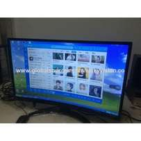 slim finish curved of the Nasco 32 inches digital satellite led tv