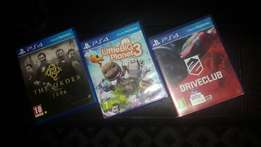 Ps4 games . Trades welcome