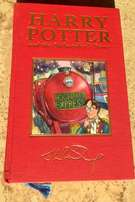 Rare Ltd. Edition Gilt Deluxe Philosopher's Stone Harry Potter book !