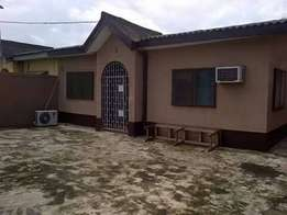 3 bedroom Self compound bungalow with mini flat bq