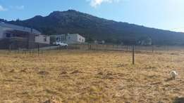 Plot with exquisite view for sale