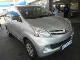 2013 Toyota Avanza 1.3s For R150000