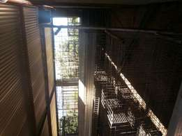 3 tier chicken cages to cater for 450 layers