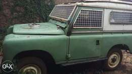 Landrover Short Chassis. Ex institution vehicle used for mobile Bankin