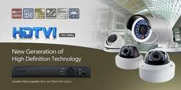 8ch Hikvision HD Turbo HD-TVI DVR and Camera
