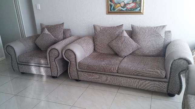 Taupe 5 seater Brand new Lounge suite East Rand Mall - image 1