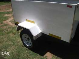 Crystal Carrier 2015 box trailer for sale in good condition R8000.00