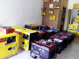 Brand New Power generators For SALE(Both Petrol and Diesel Engines)