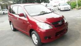 A Shinning 2007 Toyota 1.5 Avanza XS with electric Windows and aircon