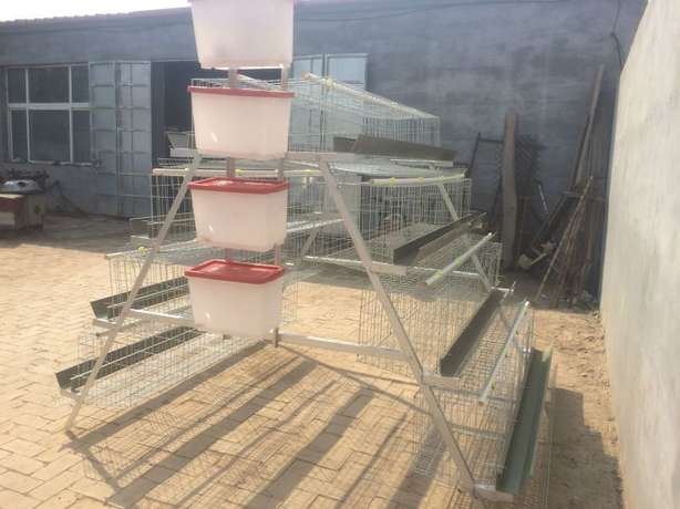 High Quality Imported Chicken Cages for Layers(1024 birds) Kasarani - image 3