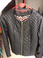 G Couture Women's Leather Jacket