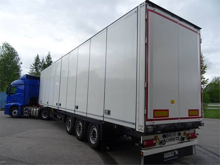Schmitz Cargobull Kokosivuaukeva Ppv - 2017