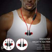 The Action Magnetic Suction Wireless Bluetooth Headphone with mic E2