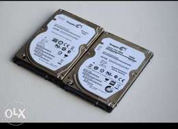 Laptop hardisks 500gb