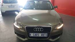 2011 Audi A4 1.8T, Color Gold, Price R155,000.