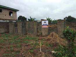 Uncompleted structure at lintel level for sale