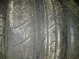 Dunlop tyres 20 inch low profile used