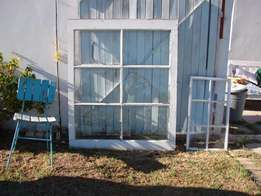 Large Solid Wood Windows / great for wall decor or Photo frames.