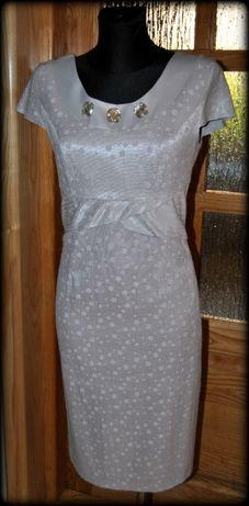 02f6553b01 Sukienka i żakiet r. 40 STAN BDB elegancki komplet na wesele komunia  Rzeszów - image