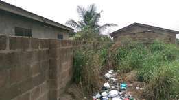 Half plot of land at Teshie Agbleza close to the main road for sale
