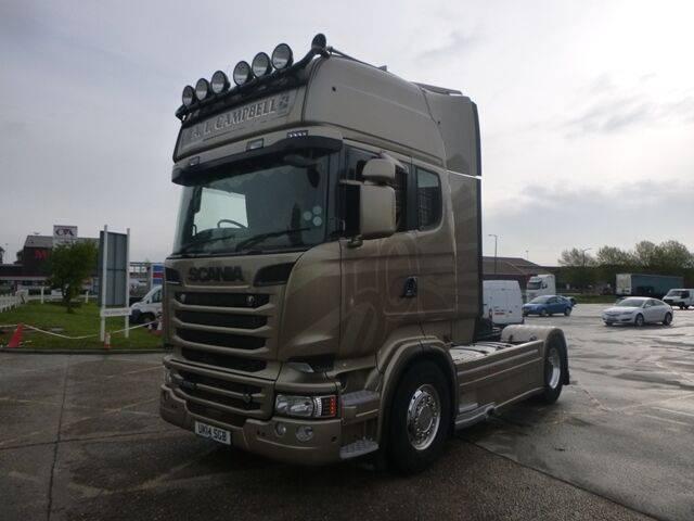 Scania R580 V8 GOLDEN GRIFFIN - 2014