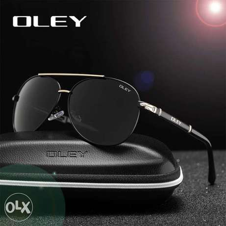 OLEY Gold Sunglasses