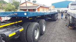 Tri-axle trailer- Just licenced