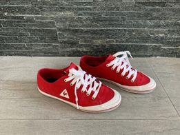 fd79b266 36 - 23 cm / LE COQ SPORTIF czerwone trampki tenisówki JAK NOWE