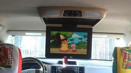 "11"" In-Car LED TV With Inbuilt USB, SD-Card, DVD & CD.x"