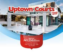 Now Selling lands at UPTOWN COURTS for just N3.5m Hurry and get yours!