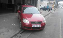 Vw polo 1.6 marrone in color hatshback 2008 model 95000km R85000