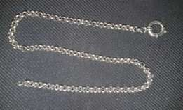 Solid 925 Silver Necklace