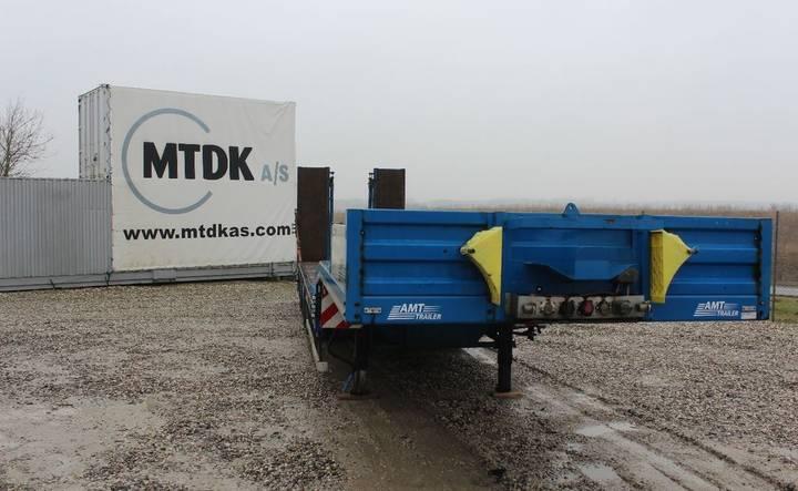 AMT MT 430 maskintrailer med udtræk og ramper - 2015