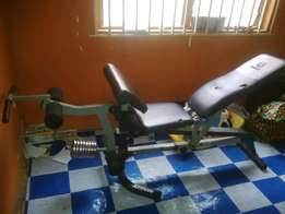 Neatly used Multi function Gym bench (MARCY )
