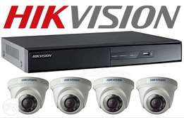 4 Cctv Cameras Hd Installation For Best Prices