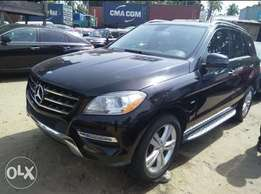 Awof deal foreign used 2014 Mercedes Benz Ml350. Full option