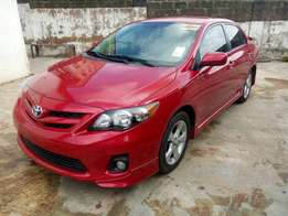 Sparkling clean Toyota corolla sport 2012 model