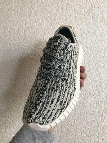 e74cb8b4 кроссовки адидас изи буст adidas yeezy boost 350 grey женские Мариуполь -  изображение 2