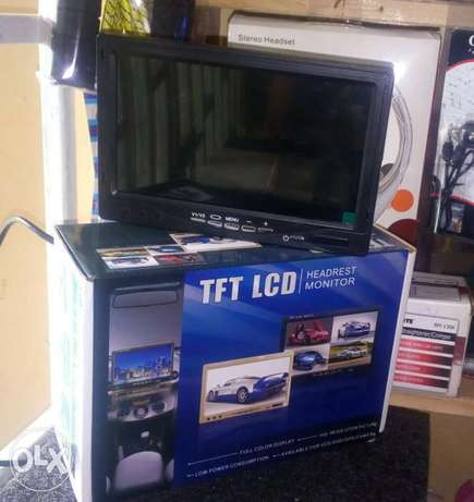 7' Dashboard tft lcd rearview sreen with USB port, free delivery cbd Nairobi CBD - image 1