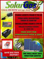 Big easter specials on solar products!!