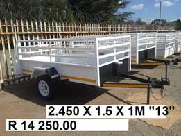Massive sale now. Brand new trailers. Papers and veridt included