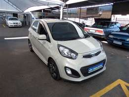 kia picanto 1.2 ex 5door with sun roof