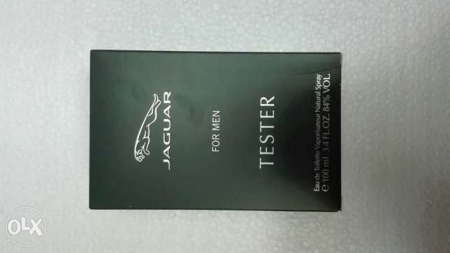 Jaguar for men tester perfume عطر