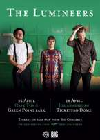 Lumineers tickets - Cape Town show