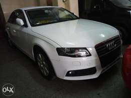 White Clean Audi A4 2010 model. KCP number