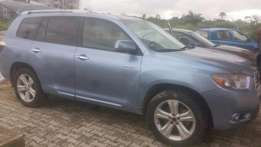 First body 2008 Toyota Highlander Limited Edition