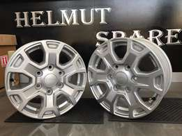 New Ford Ranger 16 inch mags for sale!! Helmut Spares!!